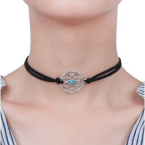 Choker ogrlica z obeskom Dream Catcher