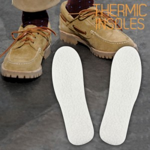 Thermic insoles
